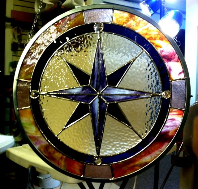 Glass Compass Rose Patterns : Jessicas compass rose  large g