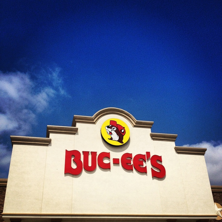 New Braunfels Buc-ee's: This not your ordinary gas station. In Texas everything is bigger and better. This stations boast 120 gas pumps and is known for having the cleanest restrooms around. It is the largest connivence store in the world at 68,000 square feet 4 Icee machines, 80 fountain dispensers, fudge, beef jerky and all the tubing and water gear you need for floating the Comal and Guadalupe Rivers.