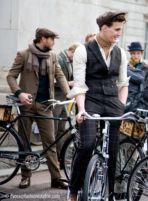 Fashionistable: Out and about....Tweed Run 2013 Vintage Rascal