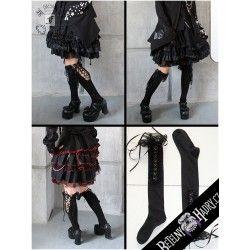 Podkolenky Gothic Doll