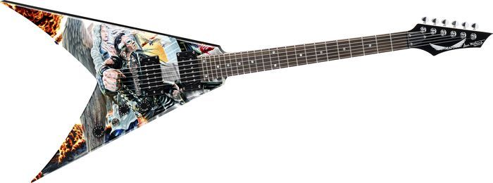 awesome guitars | Dean Dave Mustaine VMNTX United Abomination Electric Guitar (Graphic)
