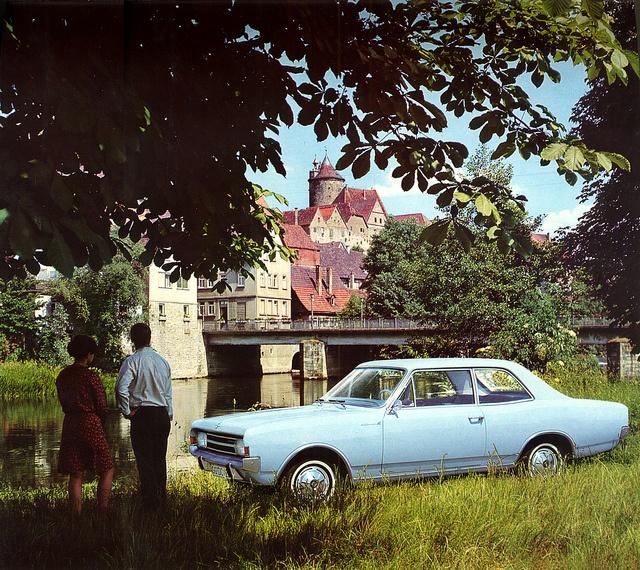 1967 Opel Rekord B