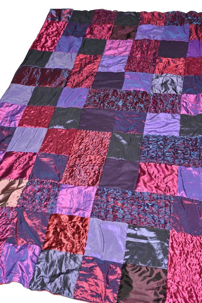 Paars-rood foulard van AtelierMD.nl