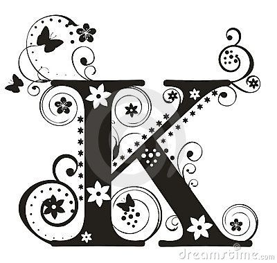 K Alphabet Letter ... Pending, Alphabet, Henna Idea, Crafty Ideas, Letter K, Fancy Letters