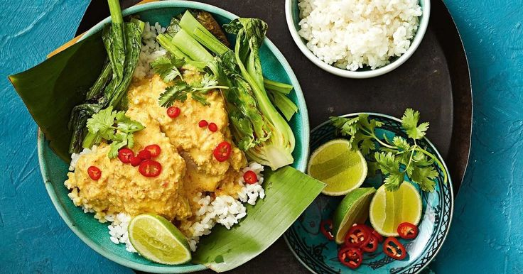 The family will love the flavour of this mild, sweet curry.