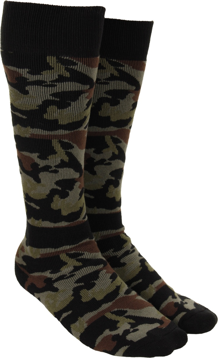 DC Shoes Apache Socks - camo - Snowboard Shop > Men's Snowboard Outerwear > Accessories > Snowboard Socks