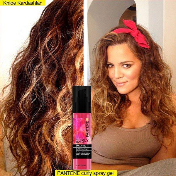 Khloe kardashian curly hair ryan seacrest