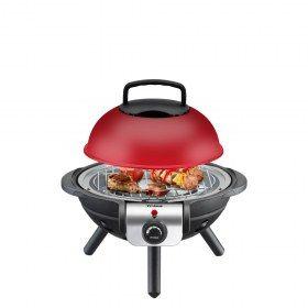 Mini barbecue da tavolo grill Trisa BBQ Junior rosso - Piccolo e compatto il mini grill può essere sistemato in ogni ambiente ed è ideale come grill da tavolo.