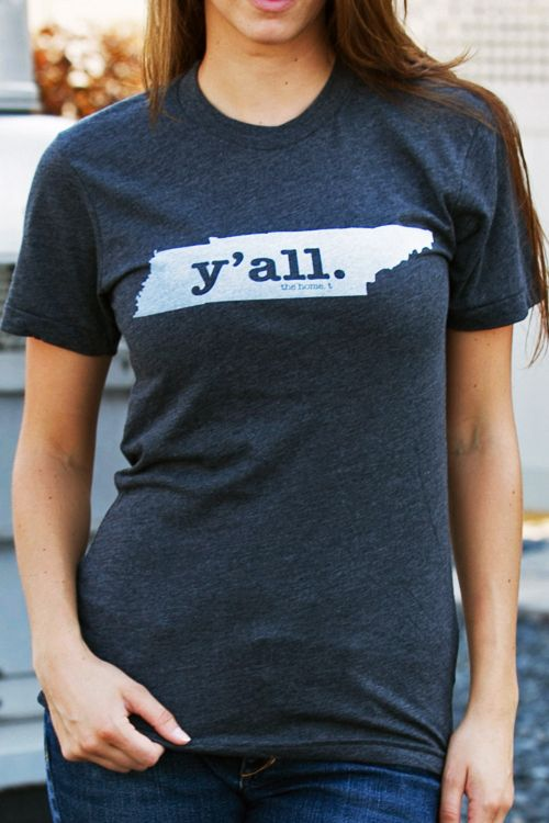 Sing it over the sounds of sweet country music in Tennessee! This comfy and stylishTennessee Y'all Shirtwill show everyone your undying state pride.