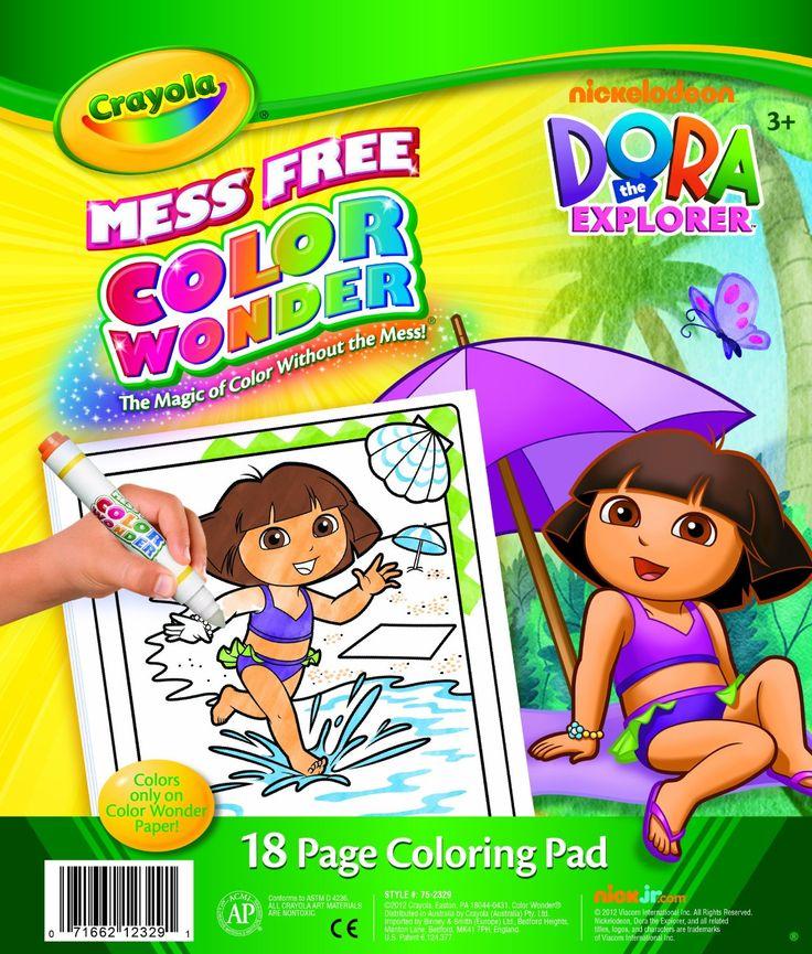 Crayola Color Wonder kouzelné omalovánky Dora průzkumnice