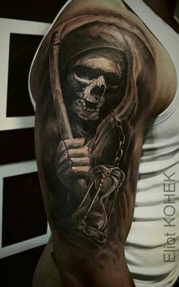 the 25 best grim reaper tattoo ideas on pinterest reaper tattoo grim reaper drawings and. Black Bedroom Furniture Sets. Home Design Ideas