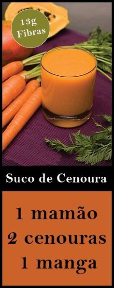 Os 16 Benefícios do Suco de Cenoura Para Saúde #cenoura #suco #receita #salud #saude #health #dicas