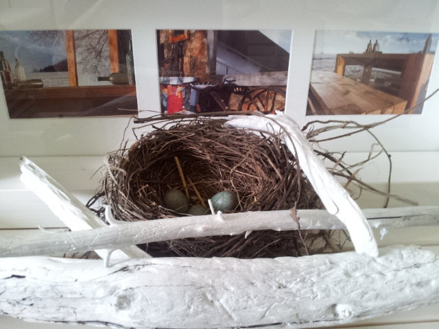 Faktkul Design, driftwood, nest, country style decoration