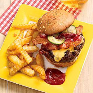 The Bacon Cheeseburger | MyRecipes.com