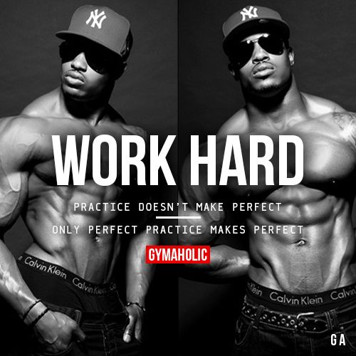 Work Hard Practice doesn't make perfect. Only perfect practice makes perfect. Simeon Panda