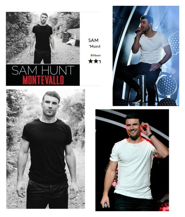 """Sam hunt"" by beliver5 ❤ liked on Polyvore featuring art"