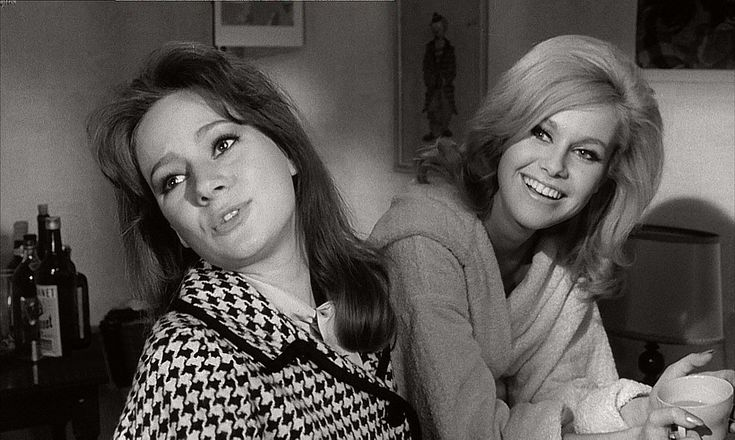 Francesca Annis and Carol Cleveland in The Pleasure Girls. 1965.