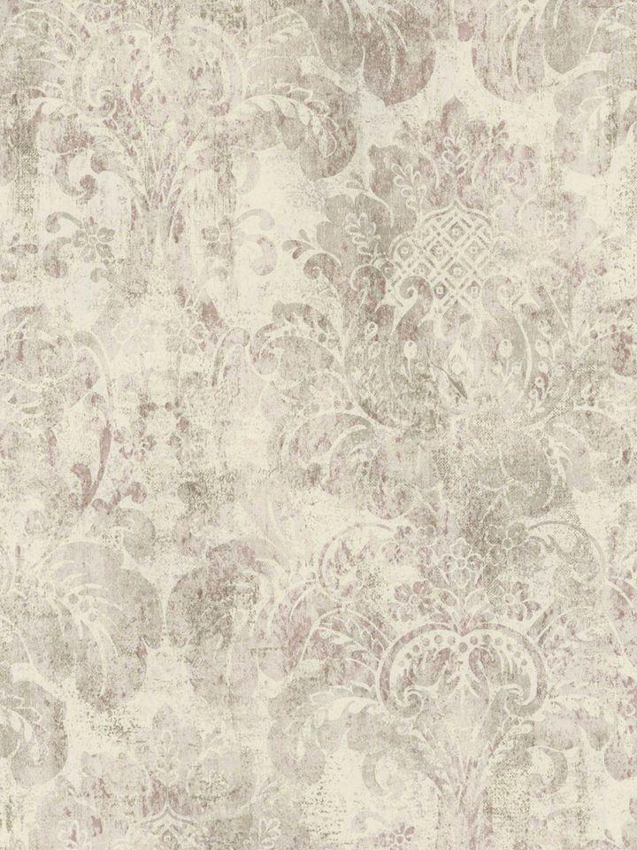 Best Cream Rustic Damask Wallpaper Traditional Wallpaper 640 x 480