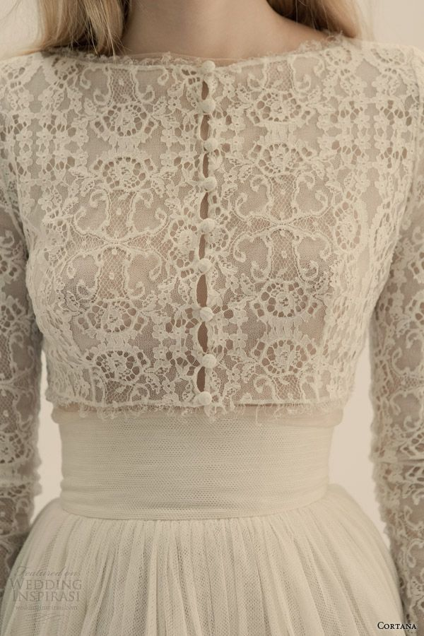 cortana bridal jacket vesta chaqueta tulle lace silk corset 1950s weddingdress bridal vintage