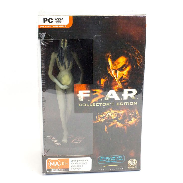 FEAR 3 Collectors Edition for PC by Warner Bros, BNIB, Sealed, Shooter
