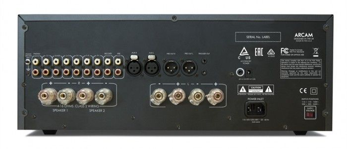 The Arcam A49 Power Amplifier is a 200 watt per channel integrated stereo amplifier, engineered to provide outstanding audio quality. Connections.