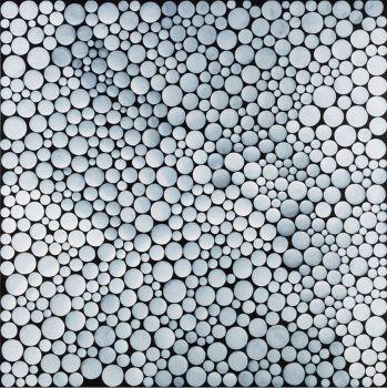 YAYOI KUSAMA  WHITE-DOTS, 2012  Acrylic on canvas  57 3/8 x 57 3/8 inches (145.5 x 145.5 cm)