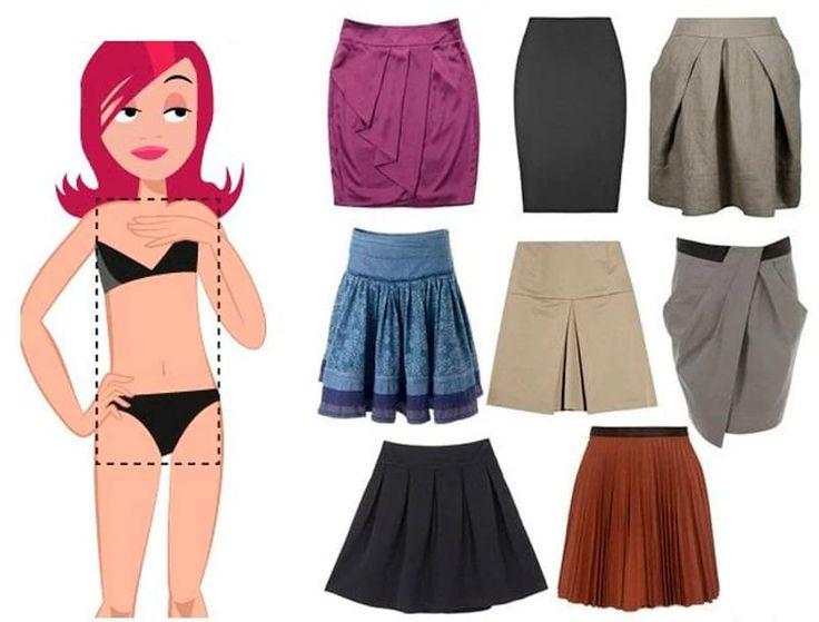 ¿Cómo elegir una falda de su figura - pequeños consejos con fotos