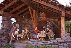 Free Pictures of Nativity Scenes | Nativity scene in Baumkirchen , Austria.