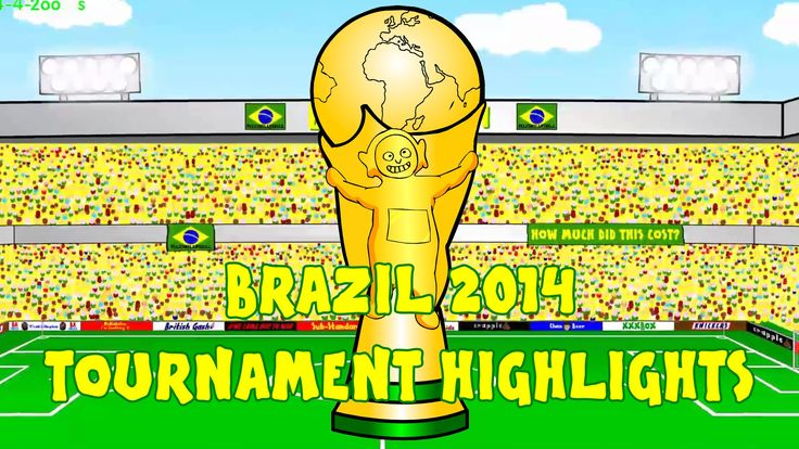 WORLD CUP 2014 HIGHLIGHTS by 442oons (Brazil 2014 World Cup Review Compi...