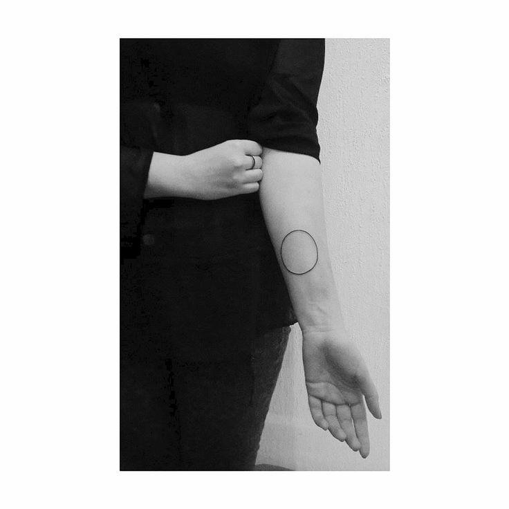 circle tattoo #simple
