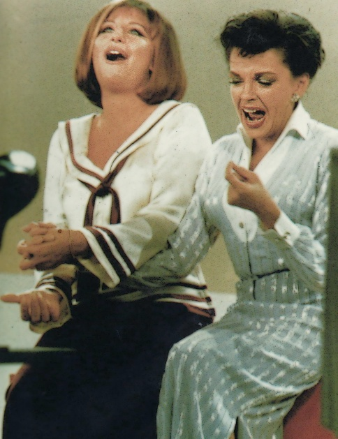 On the Judy Garland Show--This was a classic episode of the series.