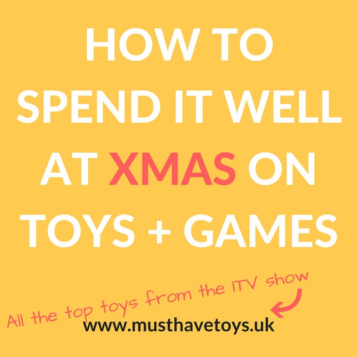 All the best toys from the ITV show 'How To Spend It Well At Christmas' #toptoys #christmaspresents #spenditwell