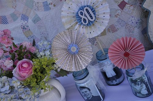 Love the idea of a vintage party - maybe for my mom's 70th birthday?