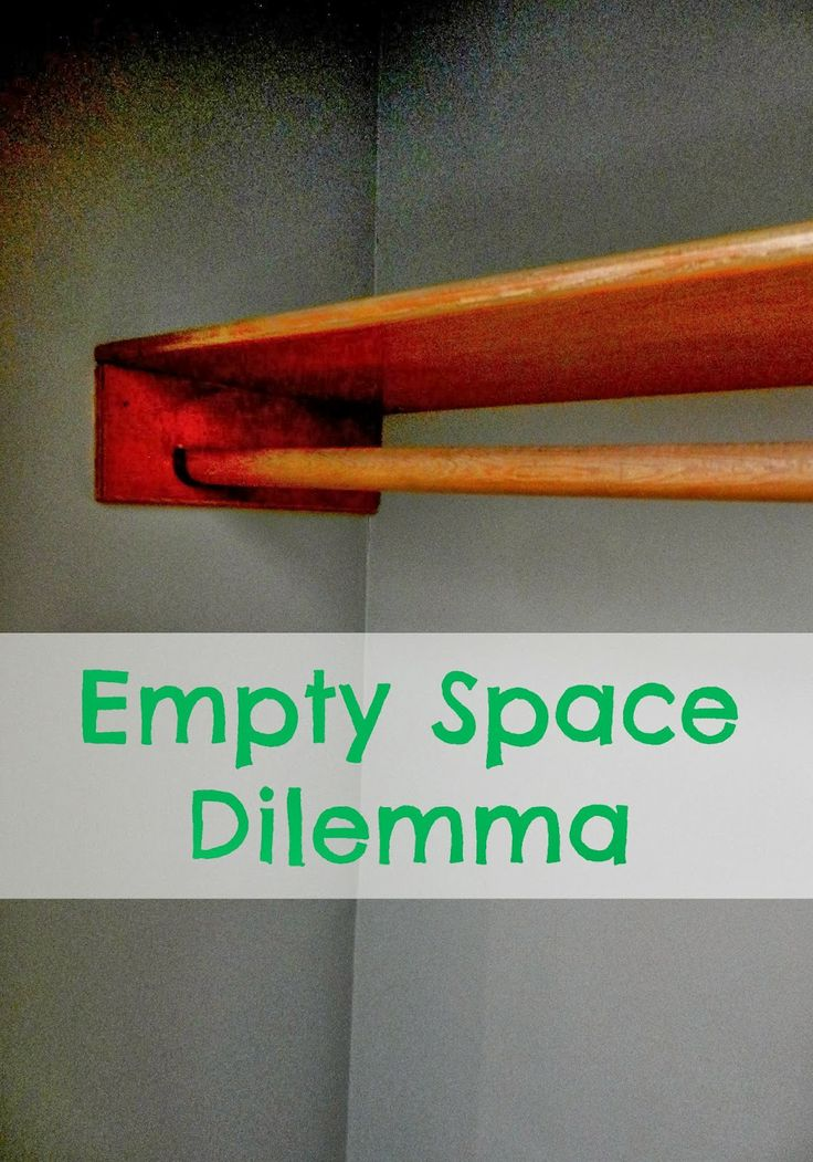 From Overwhelmed to Organized: The Empty Space Dilemma  (I'm working to have some empty spaces in my home.)