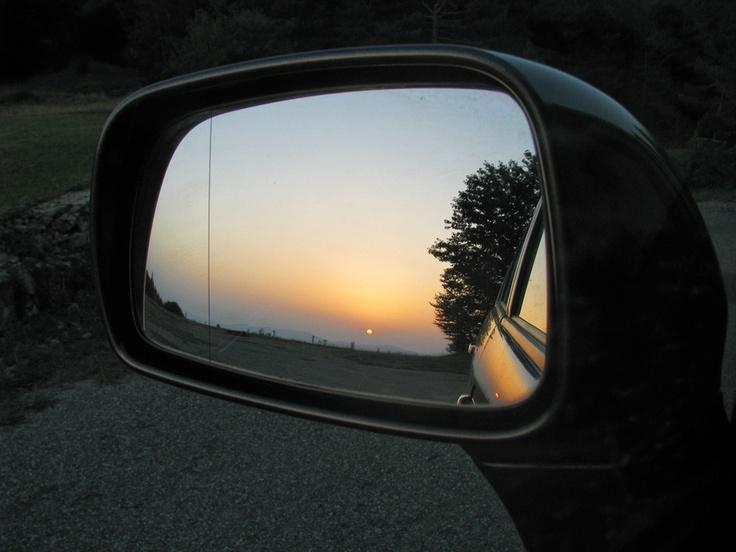 Tramonto allo specchio #Sila #Calabria