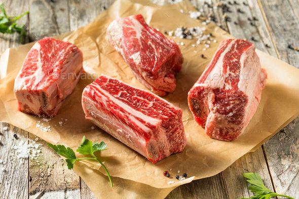 Raw Organic Beef Short Ribs In 2021 Beef Short Ribs Beef Ribs Organic Beef
