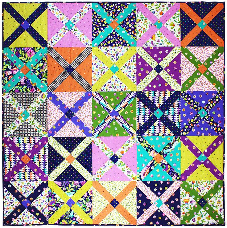 "King's Cross Quilt by Tara Faughnan / 60x60"" - Instructions Coming Soon"