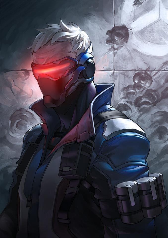 #overwatch #soldier76