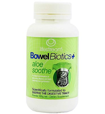 Bowel Biotics Aloe Soothe - Lifestream - 200g   Shop New Zealand