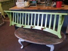 IT'S AMAZING WHAT YOU CAN DO WITH A RECYCLED/UPCYCLED/REPURPOSED CRIB!!