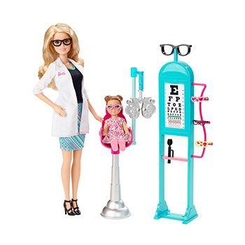 Barbie Οφθαλμίατρος Σετ Παιχνιδιού