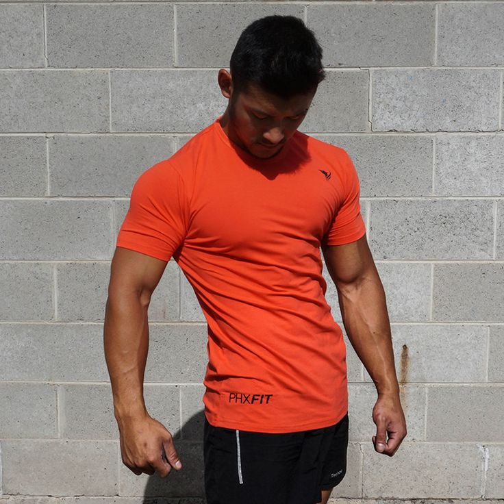 The EliteFit T-shirt is the highest quality t-shirt in your wardrobe, period. Now is your limited chance to grab one for insanely low $24.95. The one-a-kind material blend creates a feeling like no other gym shirt on the market; the perfect mix of style and performance.   Grab yours now at www.phxfitpopup.com/products/phxfit-mens-elitefit-t-shirt-phoenix-orange