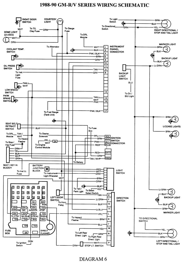 Electrical diagrams chevy only  Page 2   Projects to Try   Trailer wiring    diagram     Chevy trucks