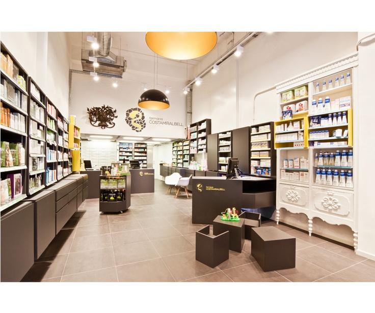 Farmacia CostaMiralbell by LO+CA arquitectos and Pepe Ramos.  Daniel LOrenzo + Carlota CAsanova.  Image by Albert Marin (GRAPH)