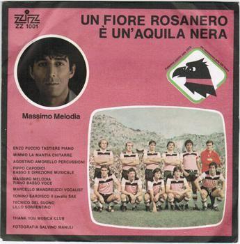 Un fiore rosanero, inno per il Palermo calcio con musica di Melodia