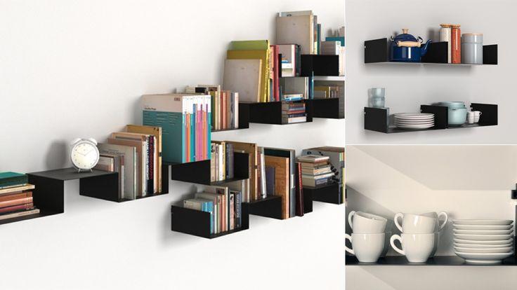 The Infinitely Arrangeable Wall Shelf