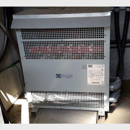 Bemag electric transformer supplier worldwide | Used Bemag 75 KVA electric transformers for sale - Savona Equipment