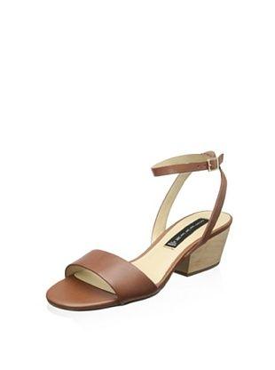 49% OFF STEVEN by Steve Madden Women's Caleyy Dress Sandal (Cognac Leather)
