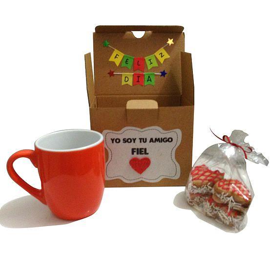 Caja de regalo mini, para tomar café a la hora del té, así como la iguana y el perezoso