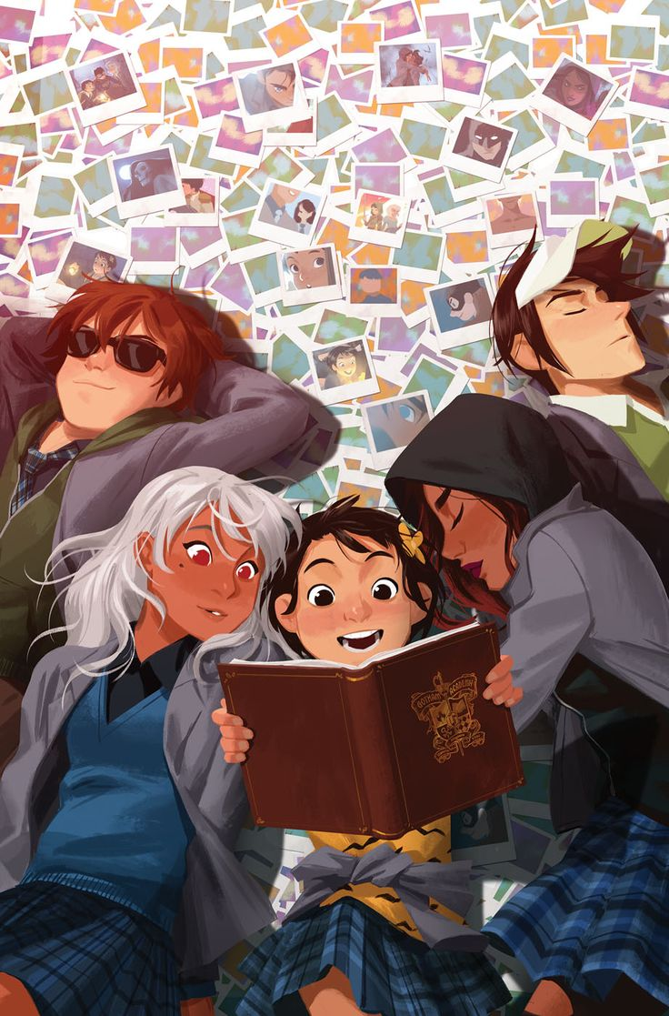 Gotham Academy #16 - Cover by Mingjue Helen Chen